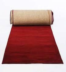 Passadeira Carpete vermelha