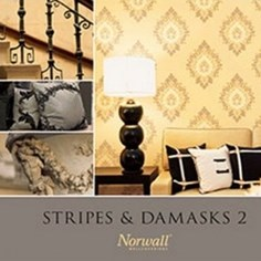 Papel de parede Importado Stripes & Damasks 2