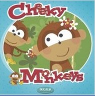 Papel de Parede Importado Cheeky Monkeys