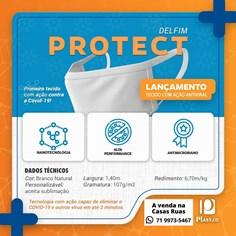 Tecido Protect delfim- antiviral